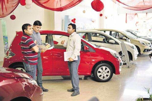 Vehicle sales across categories registered 18.23% growth to 22,23,517 units from 18,80,592 units in March 2017, according to the data released by SIAM today. Photo: Pradeep Gaur/Mint