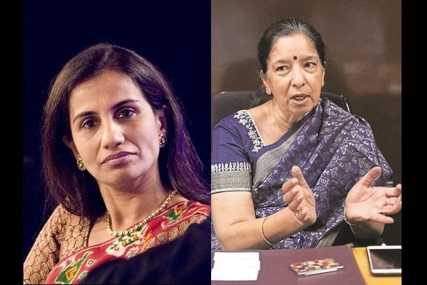 ICICI Bank CEO Chanda Kochhar, who is embroiled in a Videocon loan case, and Axis Bank MD Shikha Sharma, who has decided to cut her fourth term at the helm to just six months ending 31 December 2018.