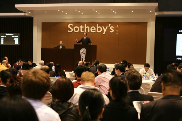Sotheby's India's Mumbai auction adds to their calendar of annual auctions in New York and London. Photo: Bloomberg