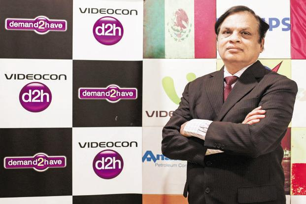 Venugopal Dhoot, chairman of Videocon group. Photo: Reuters