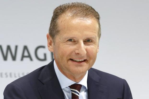 Volkswagen to replace CEO with its brand chief