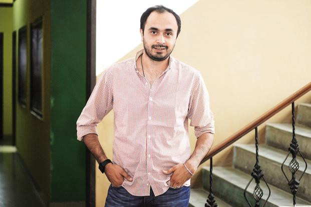 Albinder Dhindsa, co-founder and chief executive officer of Grofers. Grofers ended FY18 with sales revenues of Rs700 crore, up from Rs250 crore a year ago. Photo: Ramesh Pathania/Mint