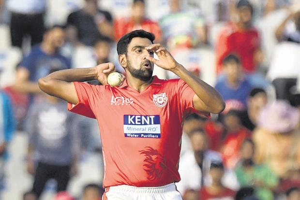 Ravichandran Ashwin is the only bowler who is leading a team in this competition, in his first season with KXIP. Photo: PTI