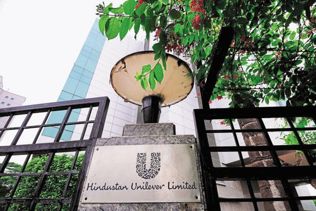 On Thursday, shares of Hindustan Unilever Ltd rose 0.33%, or Rs4.65, to Rs1,413.55  on the BSE. Benchmark Sensex ended the day 0.47%, or 160.69 points, higher at 34,101.13. Photo: Pradeep Gaur/Mint