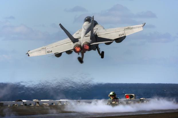 The F/A-18 Super Hornet fighter jet. Photo: Reuters