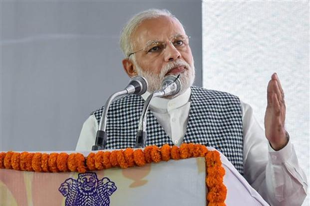 PM Narendra Modi. Under Ayushman Bharat, the govt has decided to transform 1.5 lakh sub health centres to health and wellness centres in a bid to provide comprehensive primary healthcare. Photo: PTI