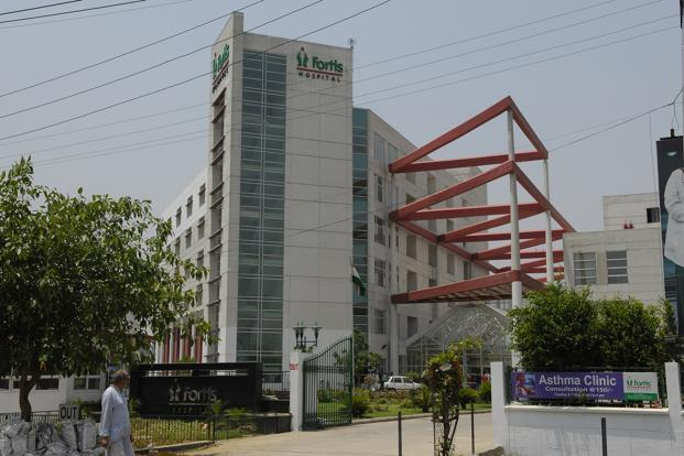 Fortis Healthcare has also received an investment offer worth Rs1,250 crore from Sunil Kant Munjal and the Burban family of Dabur. Photo: Ramesh Pathania/Mint