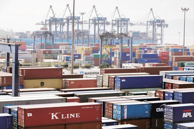 India's merchandise exports in March fell 0.7% year-on -year, for the first time in five months, to $29.1 billion. Photo: Bloomberg