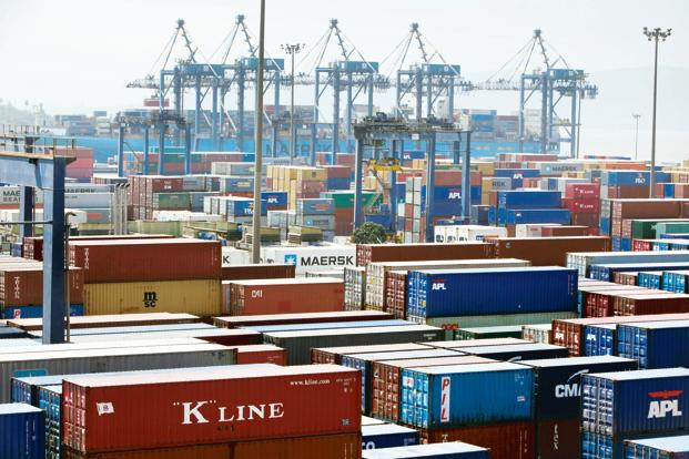 Exports drop in March