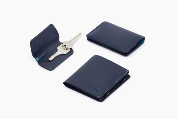 Bellroy wallets come in an eco-friendly paper package with simple instructions. Each wallet, which comes in a rainbow of colours, typically holds four to 11 cards.