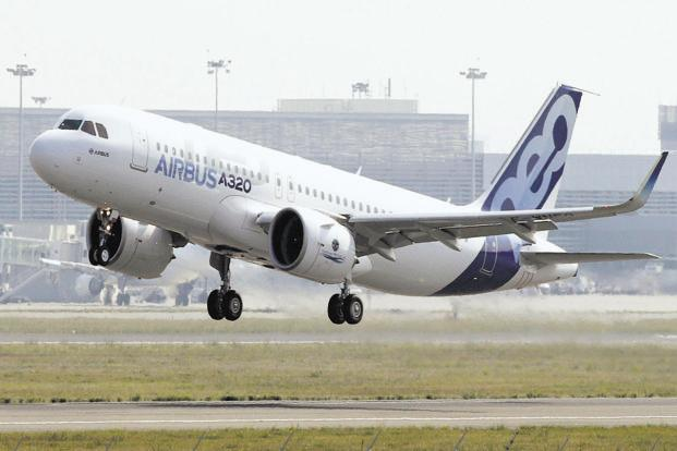 The Airbus A320neo planes are fitted with Pratt & Whitney engines. Photo: Bloomberg