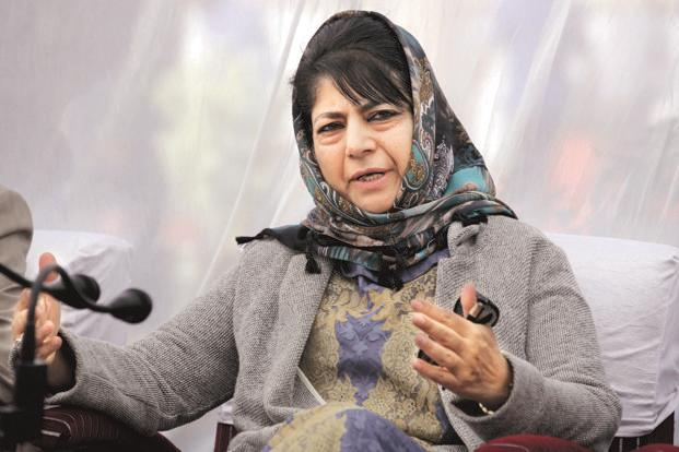 Chief minister Mehbooba Mufti hailed the country's political leadership, the judiciary, the media and the civil society for standing with the Jammu and Kashmir government to ensure justice for the eight-year-old victim in the case. Photo: PTI