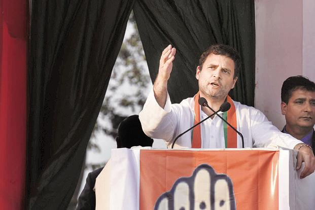 Rahul Gandhi's Karnataka visit will ensure that Congress workers remain upbeat till the election date. Photo: Hindustan Times