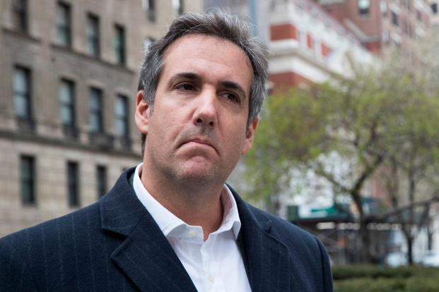 This 11 April, 2018 file photo shows attorney Michael Cohen in New York.