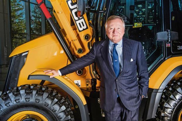 Anthony Bamford, chairman, JC Bamford Excavators. Photo: