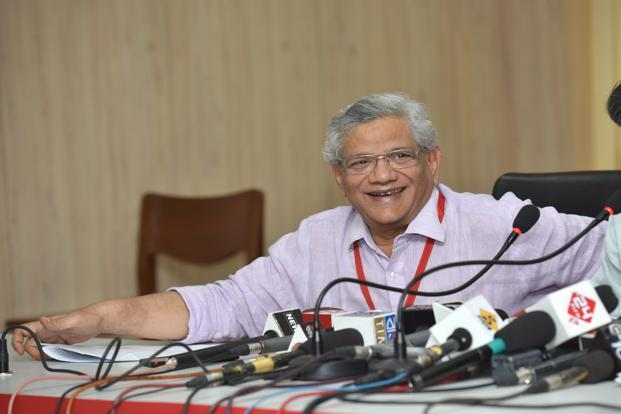 Sitaram Yechury, general secretary of the Communist Party of India (Marxist).Photo: Indranil Bhoumik/Mint