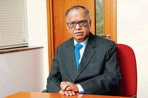 N.R. Narayana Murthy, co-founder, Infosys. Photo: Aniruddha Chowdhury/Mint