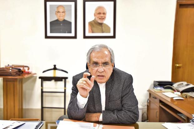 Niti Aayog vice-chairman Rajiv Kumar said India needs to create its own model of capitalism which is not borrowed from either Europe or the US. Photo: HT