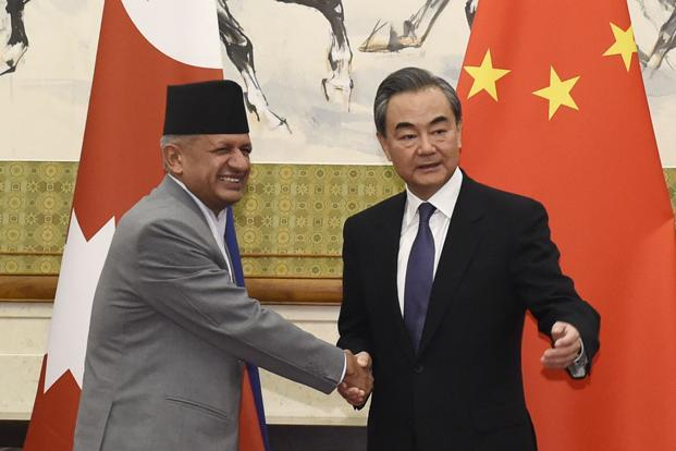 Nepal's foreign minister Pradeep Kumar Gyawali is currently in China. Photo: AP