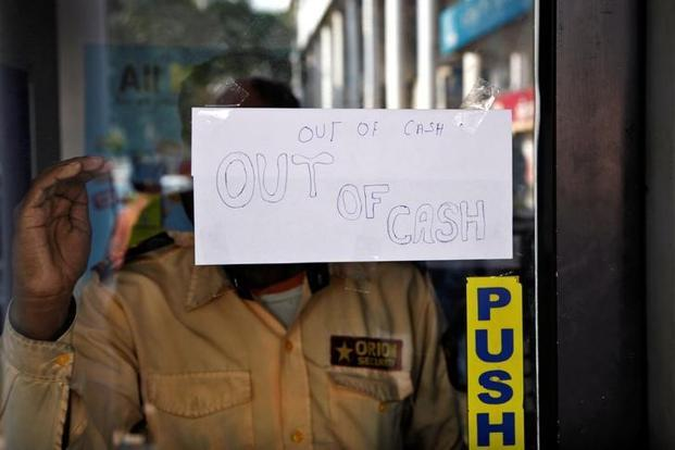 More than 80% of the ATMs are functioning, and the government is in constant touch with banks and RBI to ensure that the ATMs are adequately stocked. Photo: Reuters