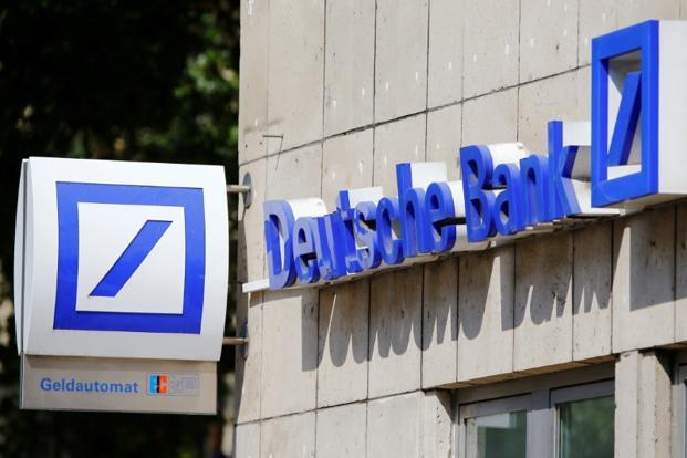 The timing of the simulation is sensitive because Deutsche Bank's investment banking division has been losing market share and key staff. Photo: Reuters