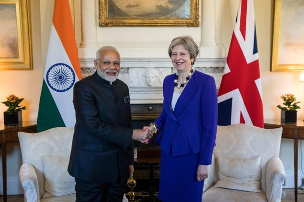 Image result for Photos, london, Modi, april 2018