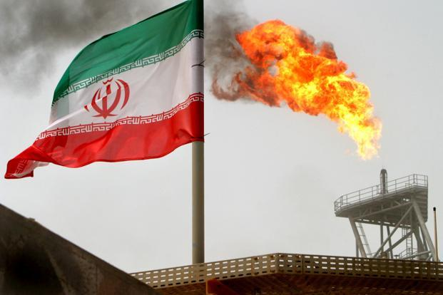 A representational image showing Iran's flag. Photo: Reuters