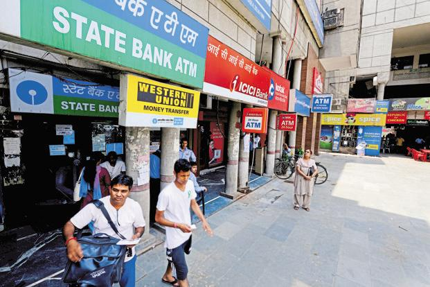 For the past few weeks, banks in many states, especially those in Uttar Pradesh, Madhya Pradesh, Rajasthan, Gujarat, Telangana, Andhra and the poll-bound Karnataka have been facing severe cash shortages, with many ATMs showing 'no cash' signboards. Photo: Pradeep Gaur/Mint