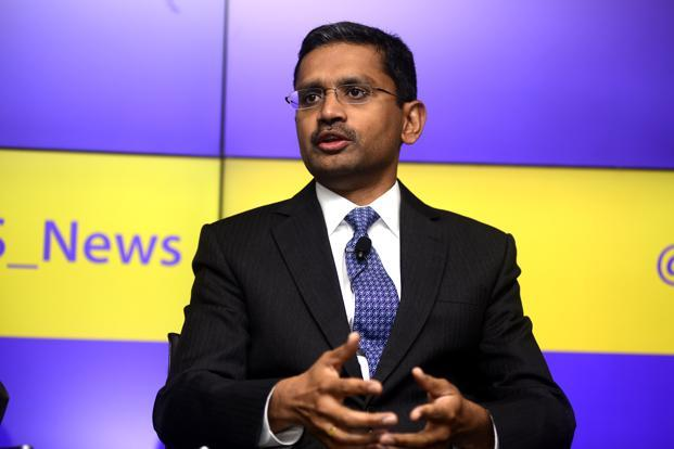 Rajesh Gopinathan, CEO of Tata Consultancy Services. TCS board rewarded shareholders with a 1:1 bonus issue after posting double-digit growth in the March quarter, a first after 13 quarters of underperformance. Photo: Abhijit Bhatlekar