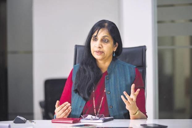 Telecom secretary Aruna Sundararajan wants India to be a frontrunner in adopting 5G technology. Photo: Pradeep Gaur/Mint