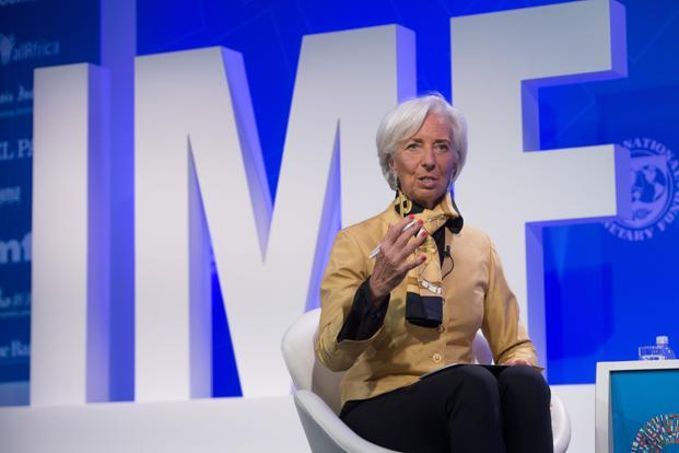 IMF chief Christine Lagarde urged countries to steer clear of all protectionism, saying that unilateral trade restrictions have not proven helpful. Photo: AFP