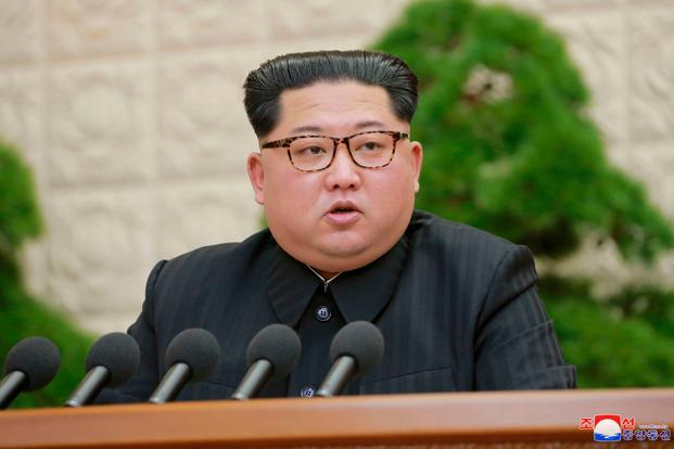 North Korea's leader Kim Jong Un said the nuclear test site will be dismantled. Photo: AP