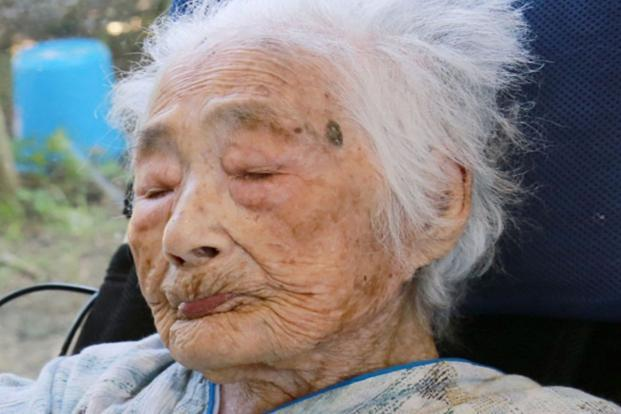Nabi Tajima, world's oldest person, died of old age in a hospital in the town of Kikai in southern Japan on 21 April, 2018. She was 117. She had been hospitalized since January. Photo: AP