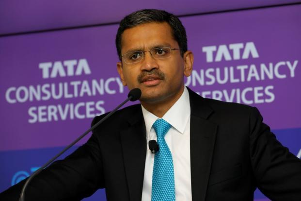 Rajesh Gopinathan, the CEO and managing director of TCS. Photo: Reuters
