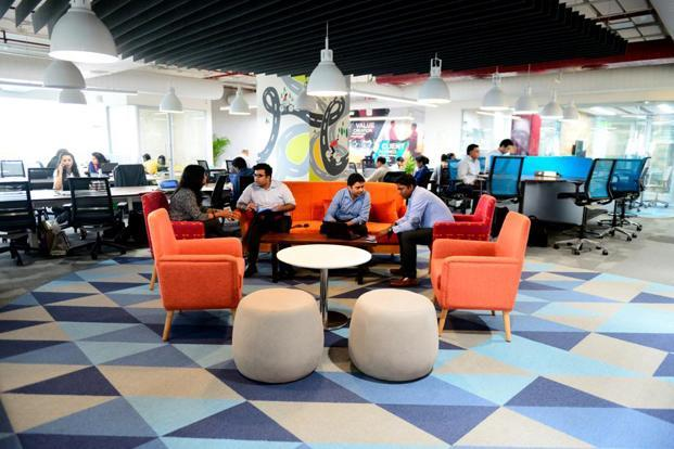 Flexibility is at the heart of the office design. Photo: Pradeep Gaur/Mint