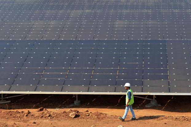 In Andhra Pradesh, Tata Power Renewable is planning to bid for SECI's 500MW projects at Kadapa Solar Park. Photo: AFP