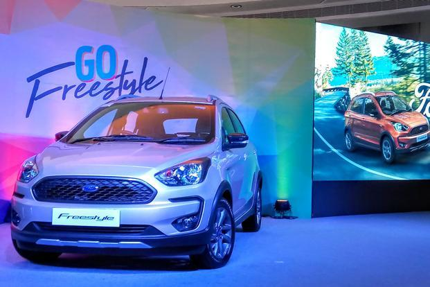 Ford Freestyle would be manufactured at the company's Sanand plant. Photo: Ramesh Pathania/Mint