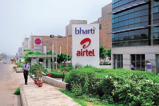 The negative outlook reflects the Airtel's high leverage levels with adjusted debt to Ebitda ratio of around 3.8 times on a consolidated basis at year-end March 2018. Photo: Pradeep Gaur/Mint