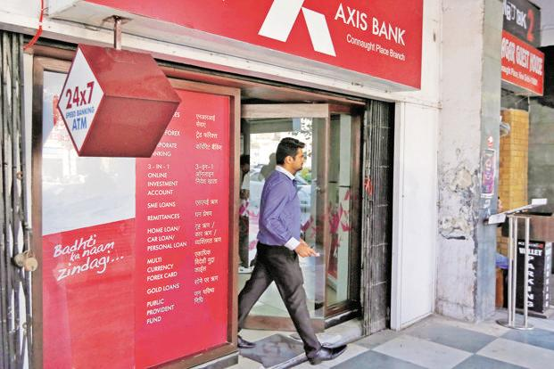Axis Bank reported a loss of Rs2,190 crore, the first in data going back to 2006, and compared with a Rs662 crore profit predicted in a Bloomberg survey of 15 analysts. Photo: Reuters