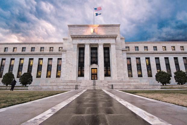 After years at with interest rates at zero in the aftermath of the global financial crisis, the US central bank has nudged the rate up six times since the first move in December 2015, moving in increments of 0.25, or 25 basis points. Photo: Bloomberg