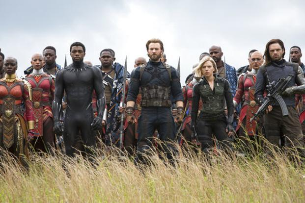 Released in about 2,000 screens, Avengers: Infinity War also managed the highest first day collections for movies across all languages in 2018. Photo: AP