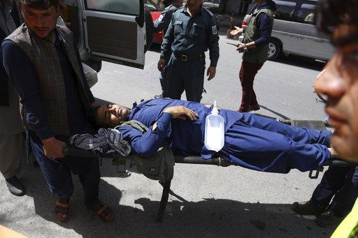 No group has claimed responsibility for the Kabul twin suicide attack, which occurred shortly before 8am (local time) near the headquarters of the Afghan intelligence services. Photo: AP