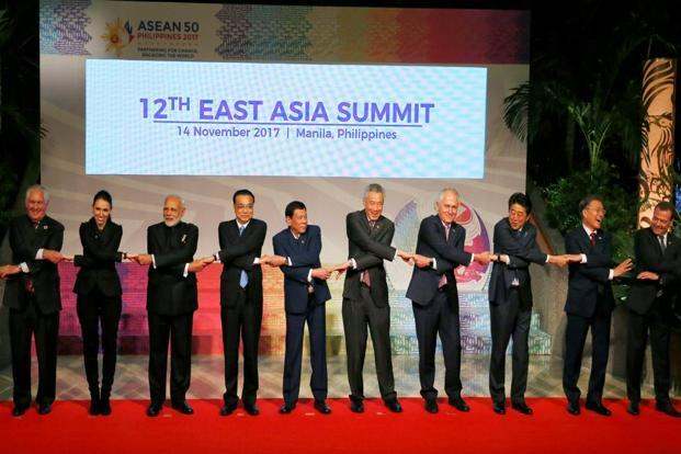 A file photo of Asean leaders. RCEP negotiations, which are threatening to eliminate tariffs on 90-92% of the tariff lines, may pose existential challenges to sectors like the automobile.Photo: Reuters