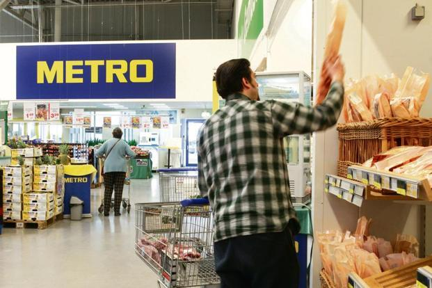 Metro is also looking at exclusive distribution tie-ups with FMCG manufacturers for new product launches. Photo: Bloomberg