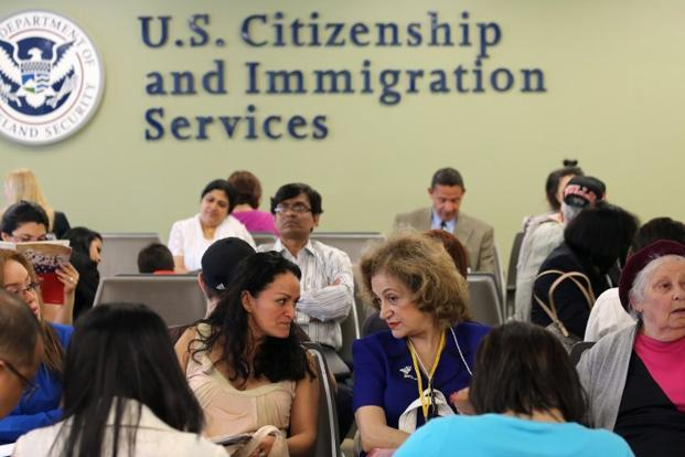 Indian-Americans, most of whom are highly skilled and come to the US mainly on H-1B work visas are the worst sufferers of the current immigration system which imposes a 7% per country quota on allotment of green cards or permanent legal residency. Photo: AFP
