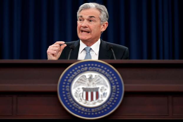 Fed chairman Jerome Powell has maintained that the central bank will pursue a middle-of-the-road approach to monetary policy. Photo: AP
