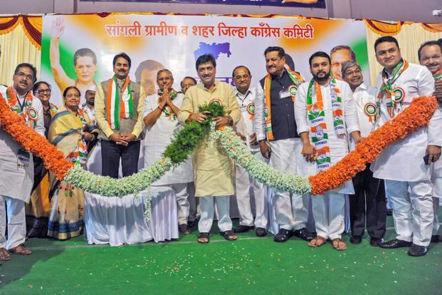 Maharashtra Congress leader Rajendra Gavit joins BJP