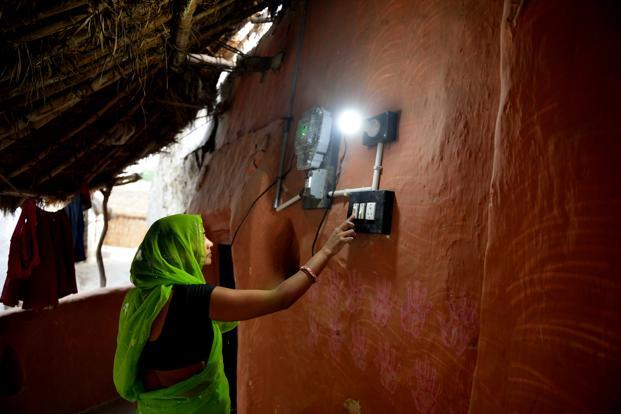 Between 2010 and 2016, India providing electricity to 30 million people each year, more than any other country, the World Bank said. Photo: Mint