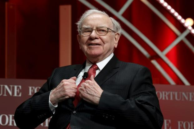 Warren Buffett said we would love to see Apple go down in price. Photo: Reuters