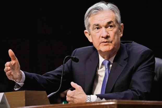 US Fed chairman Jerome Powell is expected to raise interest rates in June. Photo: Bloomberg